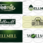 Portfolio of the Wellmill Logo Design